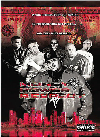 Money Power Respect DVDs-Good Condition
