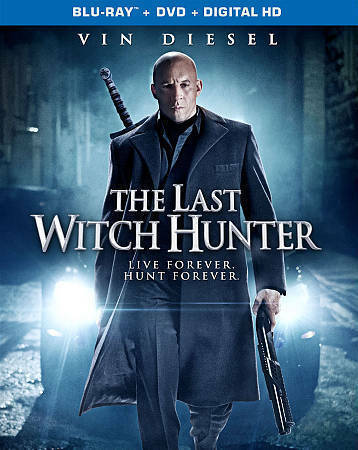 The Last Witch Hunter (Blu-ray Disc, 2016, 2-Disc Set)