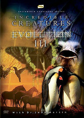 Incredible Creatures That Defy Evolution III DVDs-Good Condition