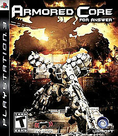 Armored Core: For Answer - Playstation 3 PlayStation 3, Playstation 3 Video Game