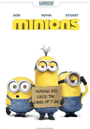 Minions DVDs-Good Condition