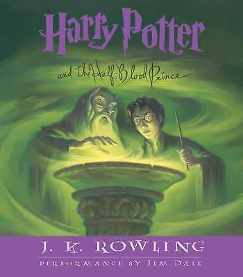 Harry Potter and the Half-Blood Prince (Book 6) J.K. Rowling Books-Good Conditio