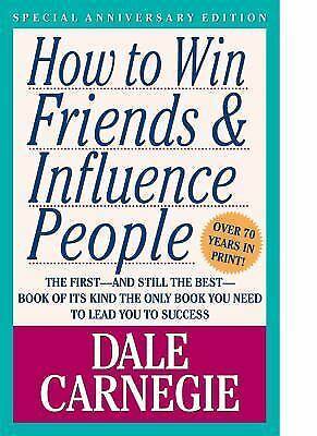 How to Win Friends & Influence People Dale Carnegie Books-Good Condition