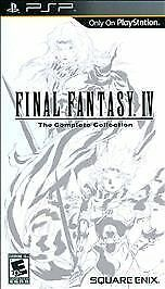 Final Fantasy IV The Complete Collection - Sony PSP Sony PSP, Sony PSP Video Gam