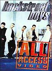 Backstreet Boys - All Access DVDs-Good Condition