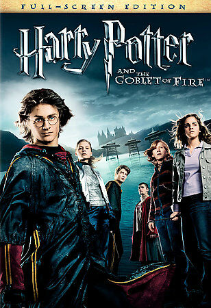 Harry Potter And The Goblet Of Fire [DVD] DVDs-Good Condition