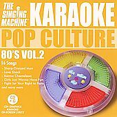 Karaoke: Pop Culture 80s 2 Various Artists Music-Good Condition