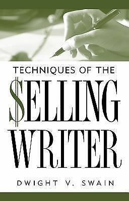 Techniques of the Selling Writer Dwight V. Swain Books-Good Condition