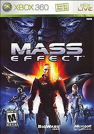 Mass Effect Xbox 360 Video Games-Good Condition