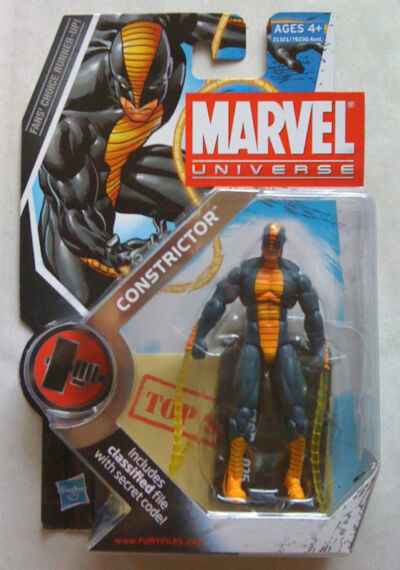 Marvel Universe CONSTRICTOR (Very Hard To Find!)