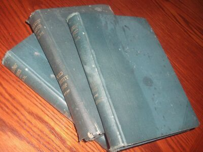 """THE WORKS of CHARLES DICKENS""- 3 RARE EDITIONS - 1890-1900 - P.F. Collier Co."