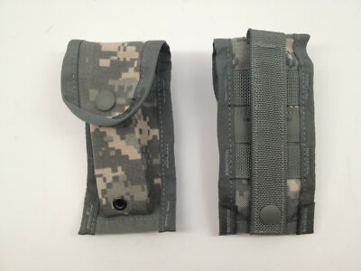 USGI Molle II 9 MM magazine pouch ACU universal camo bug out bag new (Lot of 10)