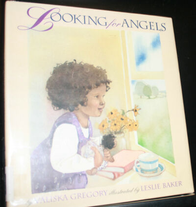 Looking for Angels by Valiska Gregory (Hardcover w/ Lam DJ) - SIGNED by Author