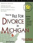 How to File for Divorce in Michigan: With Forms Haman, Edward A.