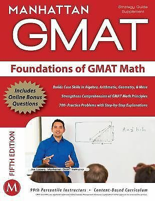 Foundations of GMAT Math, 5th Edition (Manhattan GMAT Preparation Guide: Foundat