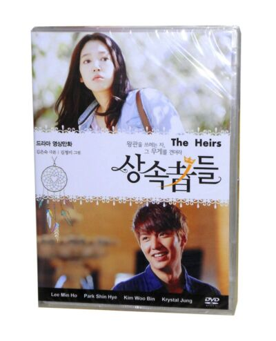 The Heirs Korean Drama (5DVDs) Excellent English & Quality - Box Set!