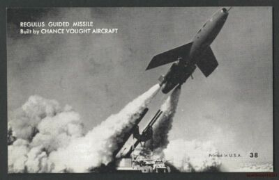 Arcade Card:Regulus Guided Missle-Chance Vought #38