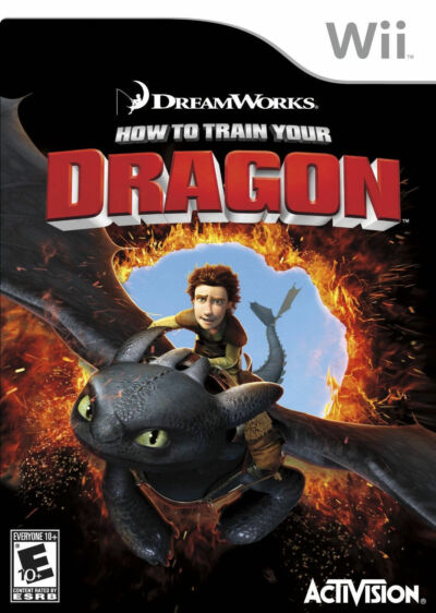 How To Train Your Dragon - Nintendo Wii by