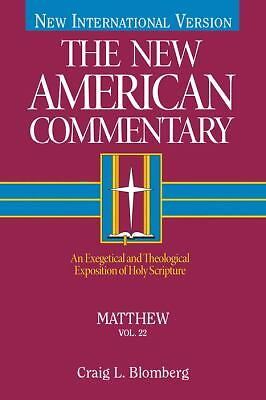 The New American Commentary Volume 22 - Matthew, Craig L. Blomberg, Good Book