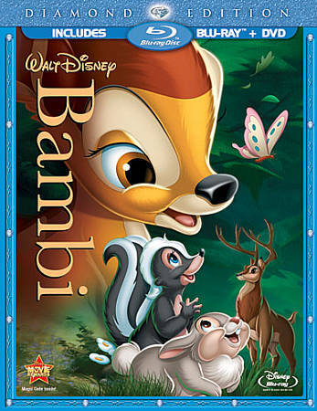 Bambi (Two-Disc Diamond Edition Blu-ray/DVD Combo in Blu-ray Packaging), Good DV