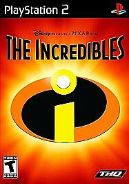 The Incredibles  PS2   Sony PlayStation 2 Game