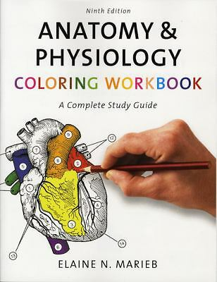 Anatomy & Physiology Coloring Workbook: A Complete Study Guide (9th Edition), El