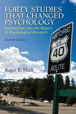 Forty Studies that Changed Psychology (7th Edition), Acceptable Books