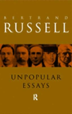 Unpopular Essays, Good Books