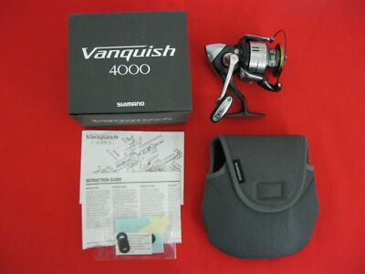 SHIMANO JAPAN VANQUISH F4000 FISHING REEL GEAR SPINNING CAST WATER- 022255171724