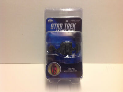 Star Trek Attack Wing Borg Soong Expansion Pack New Contents WZK 71522