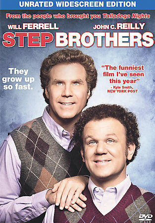 Step Brothers (Single-Disc Unrated Edition), Good DVD, Will Ferrell, John C. Rei