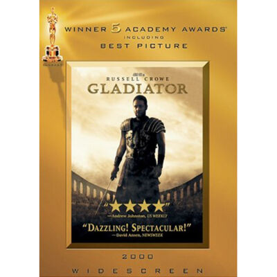 Gladiator (Widescreen Edition), Good DVD, Russell Crowe, Joaquin Phoenix, Connie