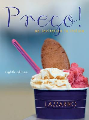 Prego! An Invitation to Italian, 8th Edition, Good Books