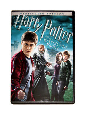 Harry Potter and the Half-Blood Prince (Widescreen Edition), Good DVD, Daniel Ra