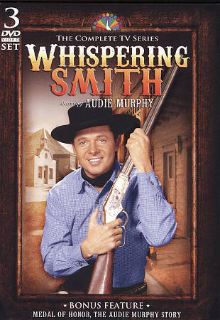 Whispering Smith - 25 Episodes - starring Audie Murphy, Good DVD, Marjorie Reyno