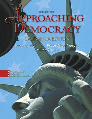 Approaching Democracy, California Edition (5th Edition), Good Books