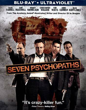 Seven Psychopaths (+UltraViolet Digital Copy) [Blu-ray], Good DVD, Linda Bright