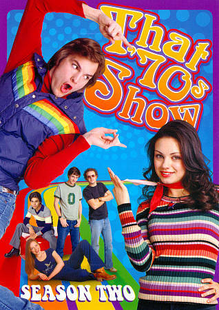 THAT 70'S SHOW SEASON 2  (DVD, 2011, 3-Disc Set)BNISW DAY U PAY IT SHIPS FREE