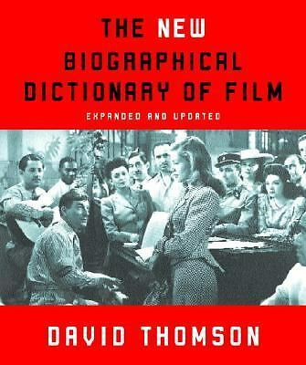 The New Biographical Dictionary of Film: Expanded and Updated, Good Books