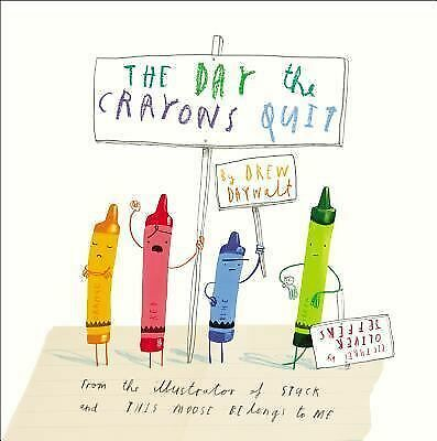 The Day the Crayons Quit, Daywalt, Drew, Good Book