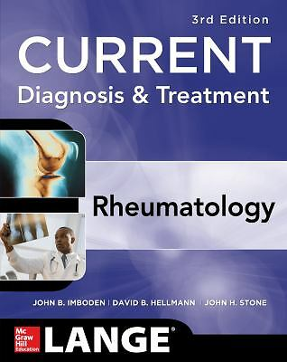 Current Diagnosis & Treatment in Rheumatology, Third Edition (LANGE CURRENT