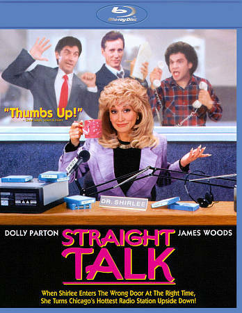 STRAIGHT TALK(Blu-ray Disc, 1992) BRAND NEW IN SHRINK WRAP - DOLLY PARTON