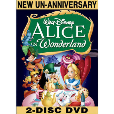 Alice in Wonderland (Two-Disc Special Un-Anniversary Edition), Good DVD, Kathryn