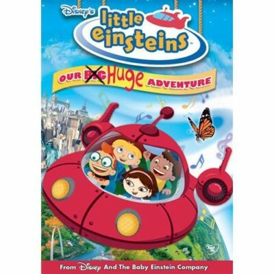 Disney's Little Einsteins - Our Big Huge Adventure, Good DVD, Piers Stubbs, Eric
