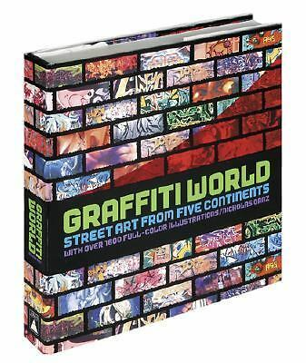 Graffiti World: Street Art from Five Continents, Nicholas Ganz, Good Book