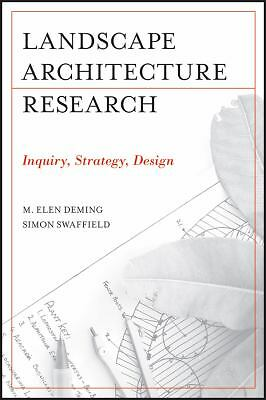 Landscape Architectural Research: Inquiry, Strategy, Design, Acceptable Books
