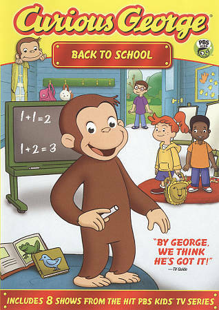 Curious George: Back to School, Good DVD, ,