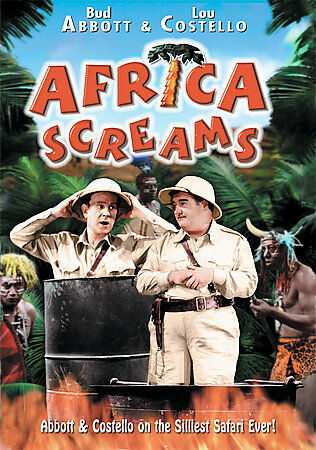 Africa Screams (DVD, 2001) ABBOTT & COSTELLO GREAT MOVIE TAKE OFF