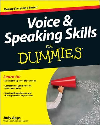 Voice and Speaking Skills For Dummies, Apps, Judy, Good Book