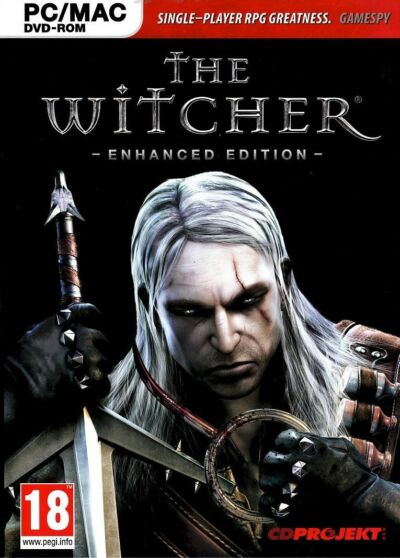 The Witcher Enhanced Edition( Windows Only, 2008).PC. New and Factory Sealed.